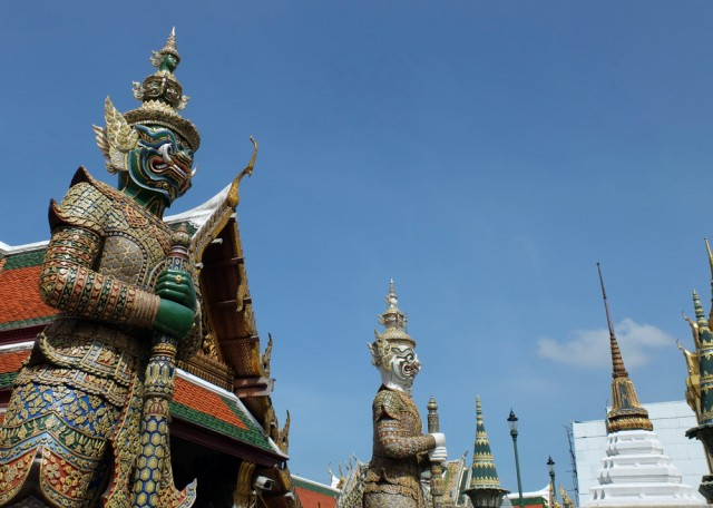 Grand Palace - Bangkok - Thailand - reisronddewereld